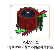 逐层传动式螺旋塔有如下几个特点高清图片